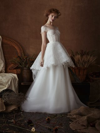 connie-by-isabelle-armstrong-spring-2018-rose-lace-a-line-gown-full-peplum-sheer-corset-bodice