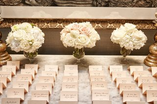 beige-place-cards-with-black-calligraphy-and-cream-and-blush-bouquets
