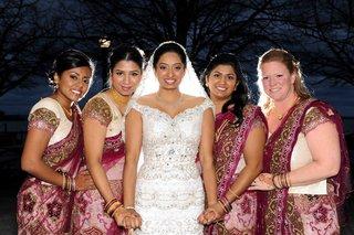 traditional-indian-bridesmaid-ceremony-attire