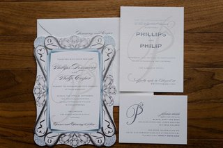 white-silver-and-light-blue-wedding-invitation-suite-with-response-card-invitation-attire-details