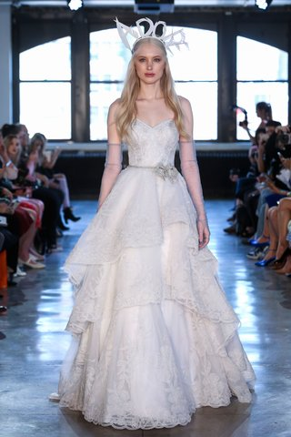 watters-fall-2018-bridal-collection-wedding-dress-alejandra-layer-ball-gown-skirt-lace-sweetheart