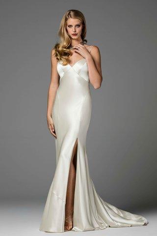 watters-2017-bridal-collection-geneva-v-neck-silk-wedding-dress-lingerie-inspired-high-slit