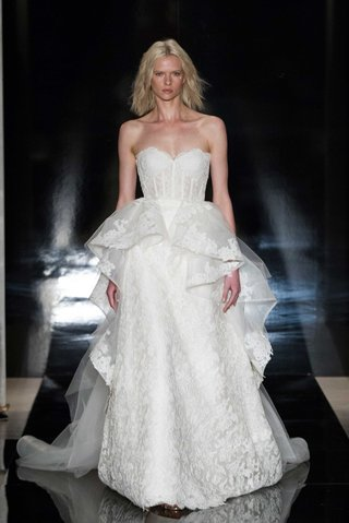 reem-acra-spring-2017-strapless-wedding-dress-reembroidered-lace-and-detachable-organza-over-skirt