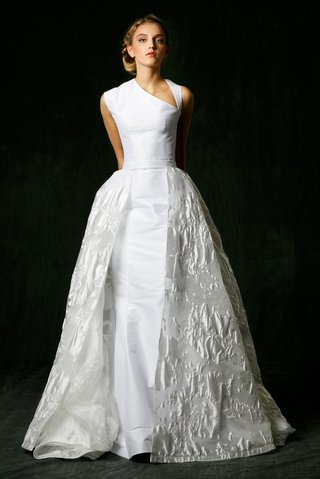 sareh-nouri-fall-2017-wedding-dress-hadley-asymmetrical-gown-neckline-with-overskirt-jacquard-train