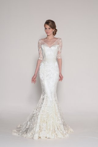 alencon-lace-fit-n-flare-with-lace-gussets-in-all-seams-and-delicate-half-sleeves-sample-in-ivory