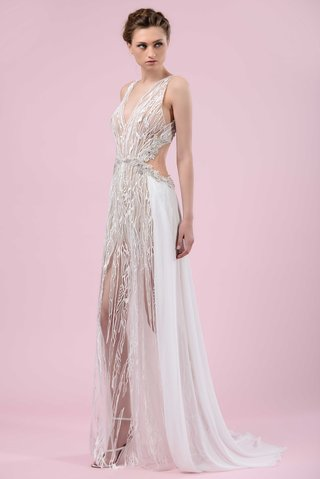 gemy-maalouf-2016-sexy-wedding-dress-with-sheer-details-and-back-cutouts