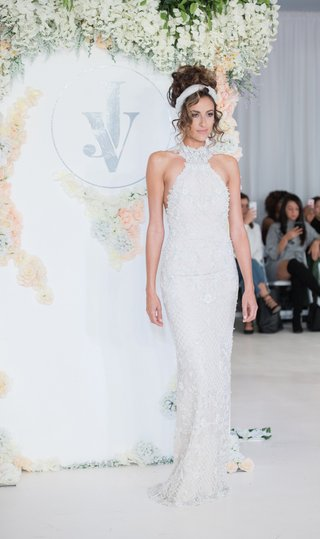julie-vino-2018-havana-bridal-collection-wedding-dress-high-neck-halter-gown-embellishments