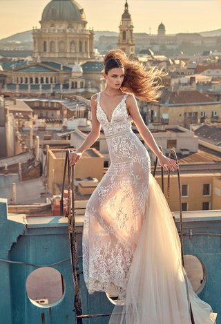 gala-by-galia-lahav-2016-sheer-lace-wedding-dress-with-detachable-train