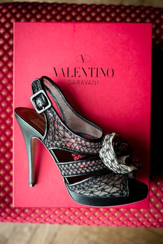 bridal-heels-black-netting-valentino-designer-unique-wedding-high-open-toe