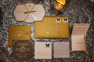 gold-save-the-date-and-response-cards
