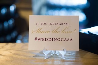 personalized-hashtag-on-sign-at-wedding-reception