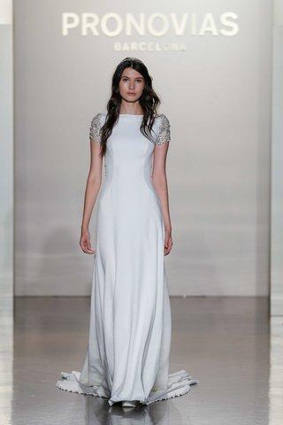 pronovias-2017-emery-sheath-crepe-tulle-embroidery-wedding-dress