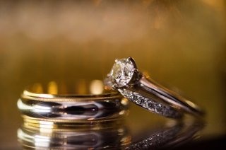 solitaire-engagement-ring-diamond-wedding-band-silver-grooms-wedding-band