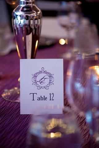 purple-printed-table-numbers-with-monogram