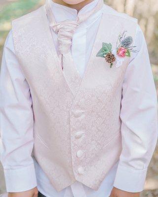 pastel-pink-ring-bearer-style-vest-boutonniere-wildflowers-blush-english-british-wedding-uk