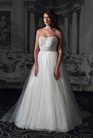 sarah-jassir-la-dolce-vita-2016-strapless-a-line-ball-gown-wedding-dress