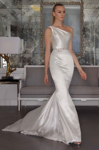 romona-keveza-luxe-bridal-fall-2016-asymmetrical-one-shoulder-satin-wedding-dress