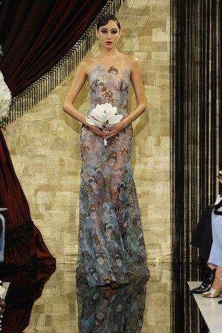sheer-blue-print-wedding-dress-with-illusion-neckline-by-theia