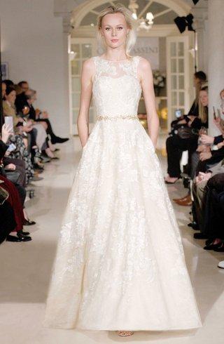 oleg-cassini-fall-2018-bridal-collection-spring-2019-wedding-dress-lace-applique-pockets-illusion