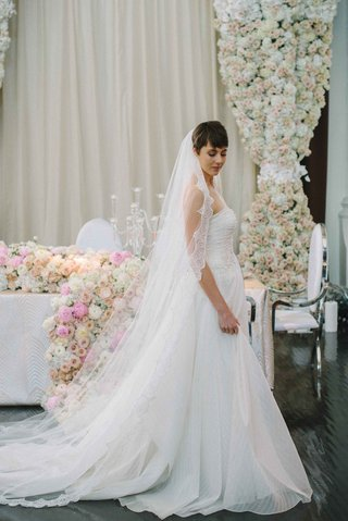 jinza-couture-bridal-katie-striped-a-line-gown-french-chantilly-lace-cathedral-veil