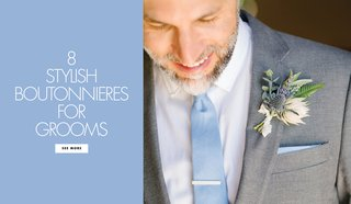 8-stylish-chic-fashionable-fun-boutonnieres-wedding-day-groom-groomsmen-accessories-floral-accents