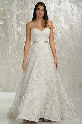watters-2016-a-line-wedding-dress-with-ribbon-belt-and-flower-applique