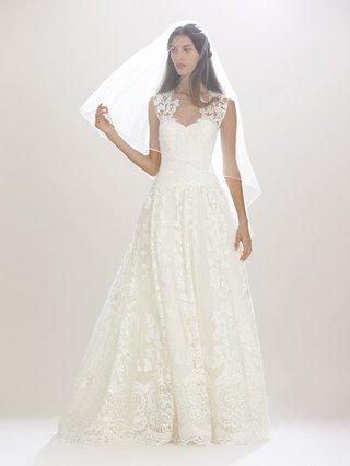 carolina-herrera-fall-2016-wedding-dress-with-lace-overlay-and-straps