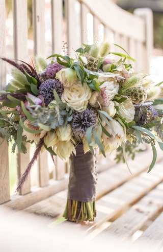 neutral-tones-rustic-bouquet-blue-purple-white-green-different-kinds-of-flowers