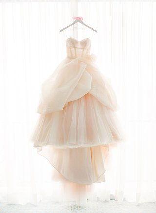 blush-wedding-dress-by-lazaro-on-white-hanger