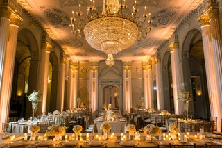 reception-with-pillars-candles-and-chandelier-at-biltmore-ballrooms-in-atlanta