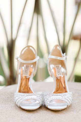 silver-bedazzled-badgley-mischka-bridal-heels-with-ankle-straps