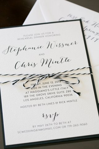 rehearsal-dinner-invite-with-black-and-white-string