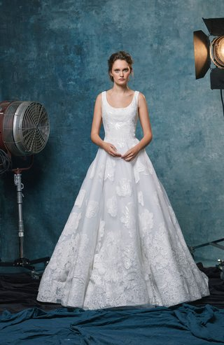 sareh-nouri-fall-2019-bridal-collection-wedding-dress-halle-a-line-gown-with-embroidered-lace