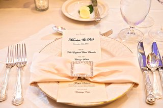 menu-at-the-drake-hotel-champagne-napkin-with-jeweled-clip