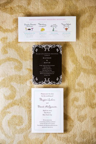 wedding-itinerary-rehearsal-dinner-and-save-the-date-card