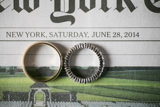 gold-mens-band-and-platinum-eternity-band-on-new-york-times