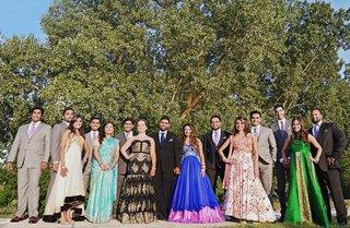 indian-wedding-groomsmen-in-suits-bridesmaids-in-indian-dresses