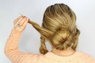 sock-bun-hair-tutorial-wedding-day-hairstyles