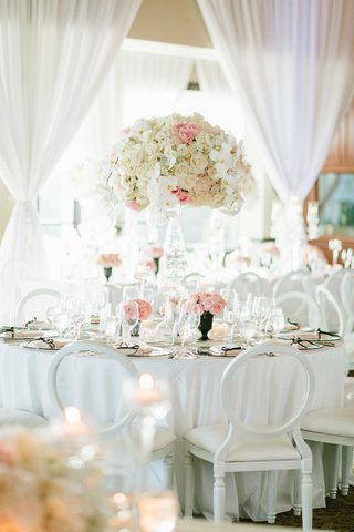 classic-wedding-decor-floral-centerpiece-with-pink-ivory-and
