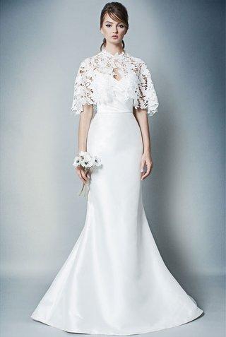 romona-by-romona-keveza-fall-2018-flare-wedding-dress-with-capelet-lace