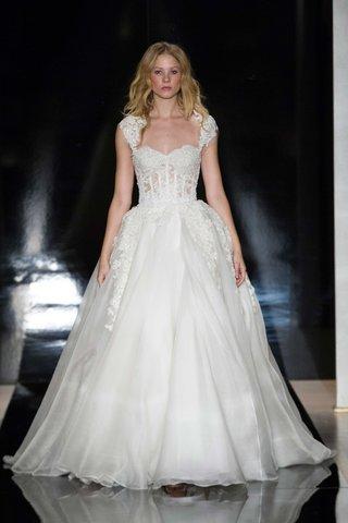 reem-acra-spring-2017-wedding-dress-cap-sleeves-lace-corset-bodice-detachable-skirt-shoulder-wrap