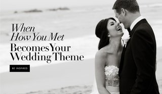 couple-wedding-theme-of-how-we-met-story-meet-cute