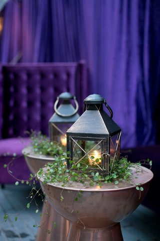 wedding-reception-after-party-alexis-cozombolidis-and-hunter-pence-wedding-purple-lounge-area-lanter