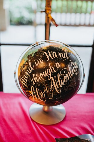 black-globe-with-golden-calligraphy-for-guest-book