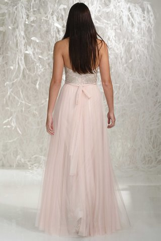 wtoo-bridesmaids-2016-back-of-long-bridesmaid-dress-with-silver-embroidery-on-bodice-and-pink-skirt