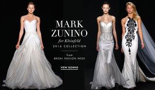 mark-zunino-for-kleinfeld-2016-black-and-white-wedding-dresses