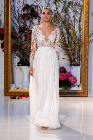 anne-barge-collection-spring-2017-leyland-long-sleeve-wedding-dress-sheer-lace-bodice-chiffon-skirt