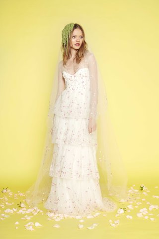 long-sleeve-floral-embroidered-silk-tulle-a-line-tiered-skirt-lydia-hearst-sabrina-dahan
