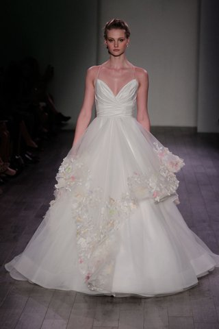 hayley-paige-2016-bodice-with-a-line-skirt-and-overlay-with-flower-appliques