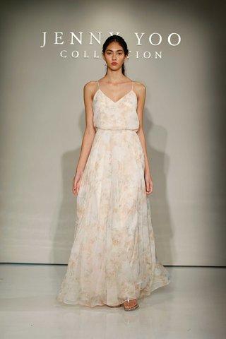 jenny-yoo-bridesmaids-2016-flower-print-long-bridesmaid-dress